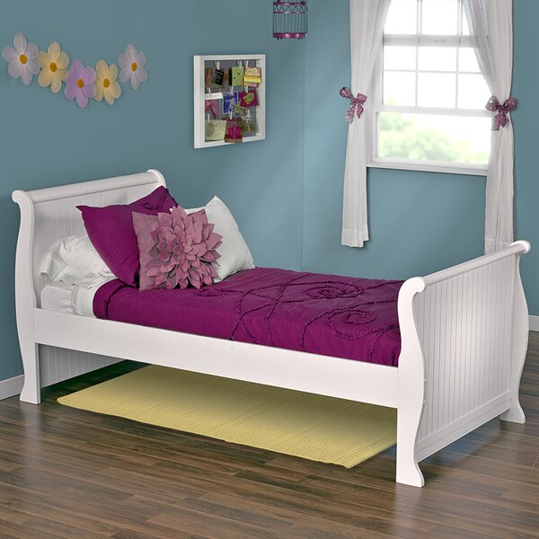 Edick Sleigh Bed by Harriet Bee