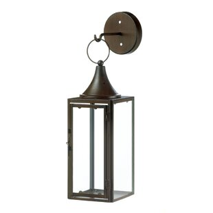 Compare & Buy Gatehouse Hanging Iron and Glass Lantern By Zingz & Thingz
