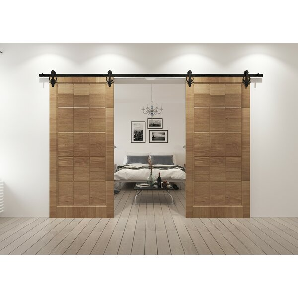 Double Bucks Barn Door Hardware by Vancleef