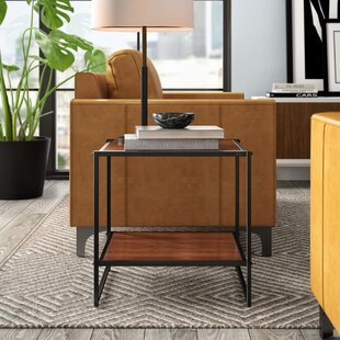 Edgar Set of Two 20 Inch Square End Table (Set of 2)