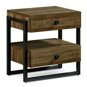 Carbaugh 2 Drawer Nightstand by Brayde..