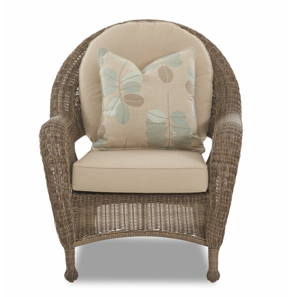 Brody Patio Chair with Cushion by August Grove