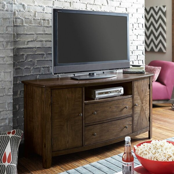 Hassania Solid Wood TV Stand For TVs Up To 65