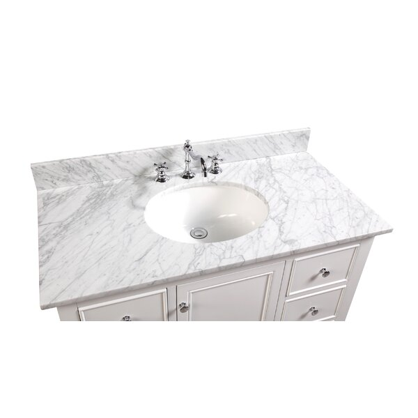 Bella 42 Single Bathroom Vanity Set by Kitchen Bath Collection
