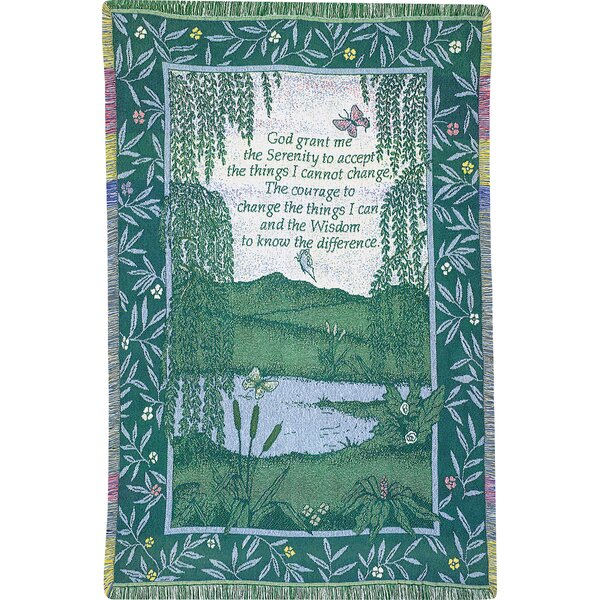 Serenity 2.5 Layer Cotton Throw by Manual Woodworkers & Weavers