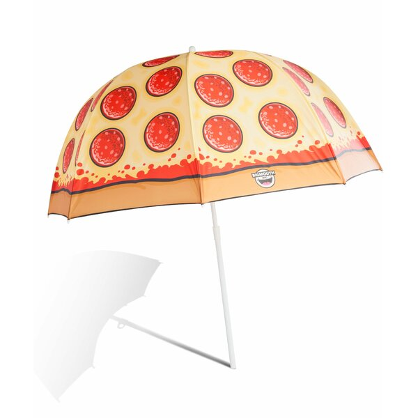 Pizza 4' Beach Umbrella by Big Mouth Toys Big Mouth Toys