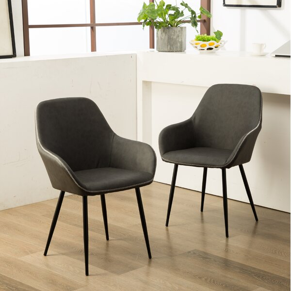 Willow Upholstered Dining Chair (Set of 2) by Modern Rustic Interiors