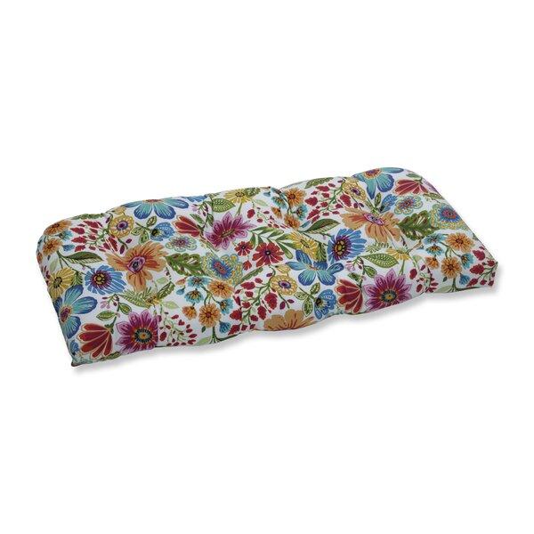Indoor/Outdoor Loveseat Cushion by Winston Porter