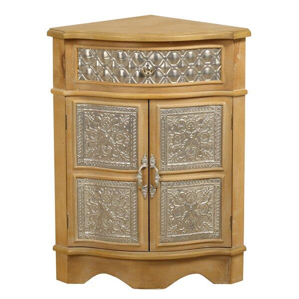 Corner 2 Door Accent Cabinet by Passport Furniture