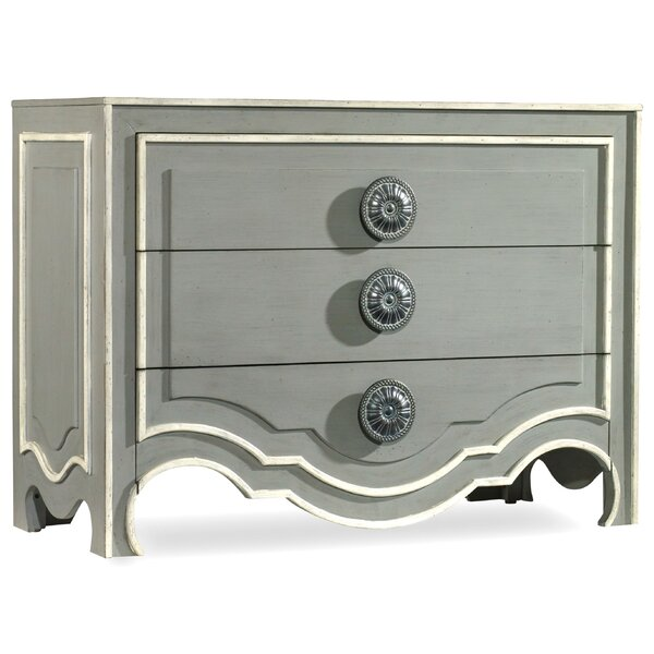 Melange Roselle 3 Drawer Chest by Hooker Furniture