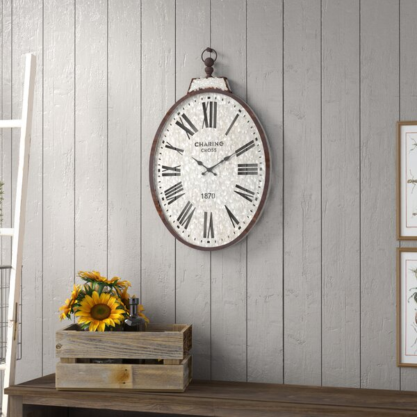 Stapleton Pocket Watch Wall Clock by Laurel Foundr