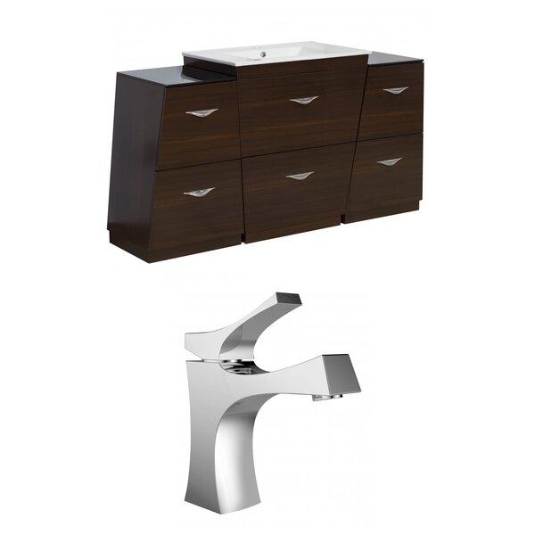 Mcreynolds 53 Single Bathroom Vanity Set