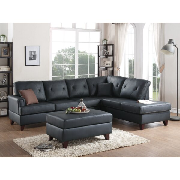 Bevilacqua 3 Piece Living Room Set by Brayden Studio
