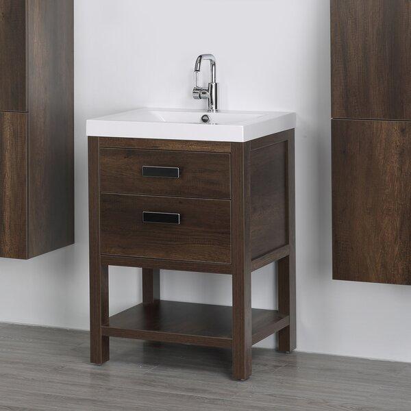 24 Single Bathroom Vanity Set by Streamline Bath