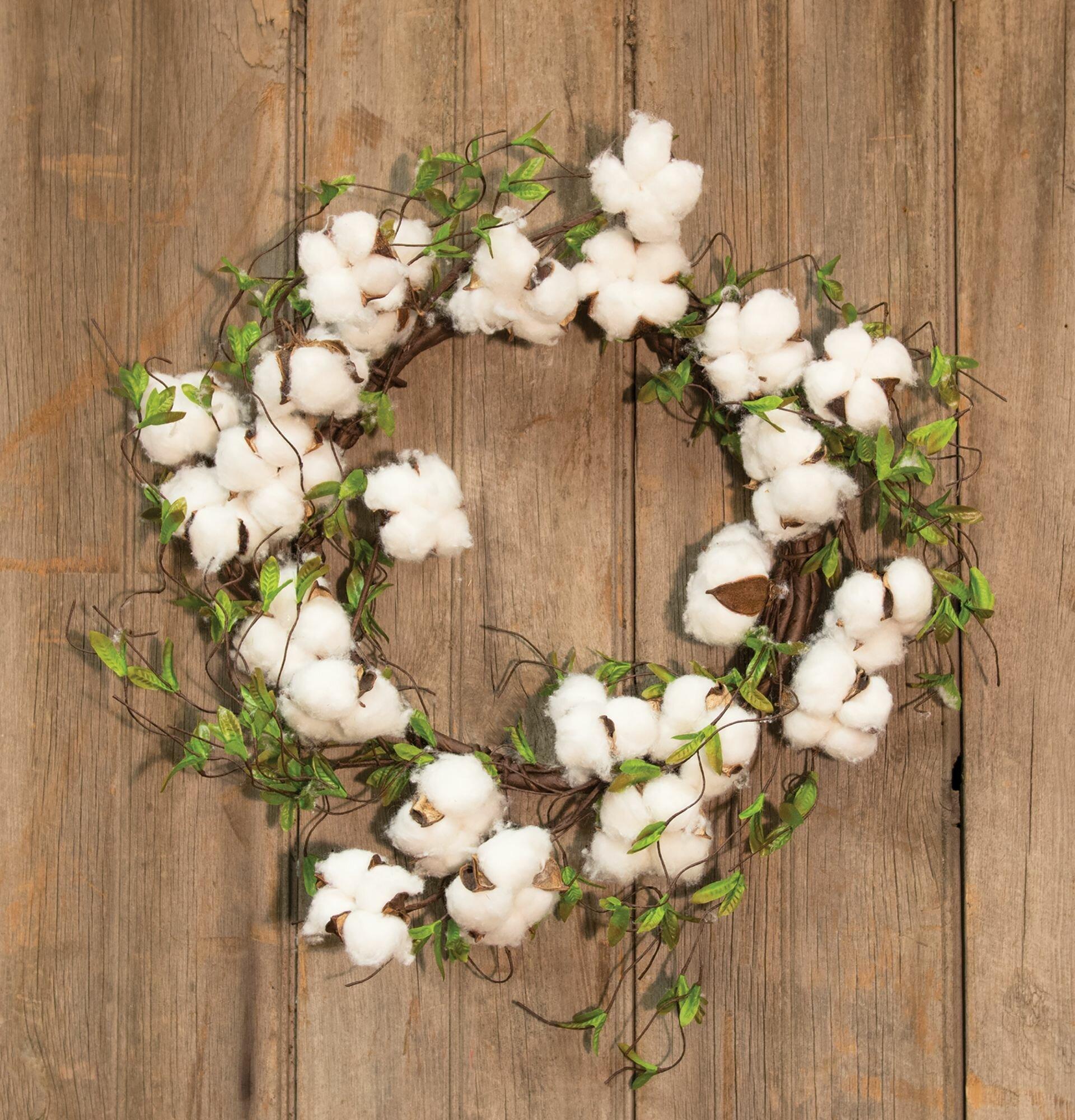 Plow /& Hearth Decorative Cotton Garland