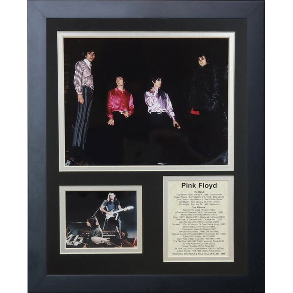 Pink Floyd Framed Photographic Print by Legends Never Die