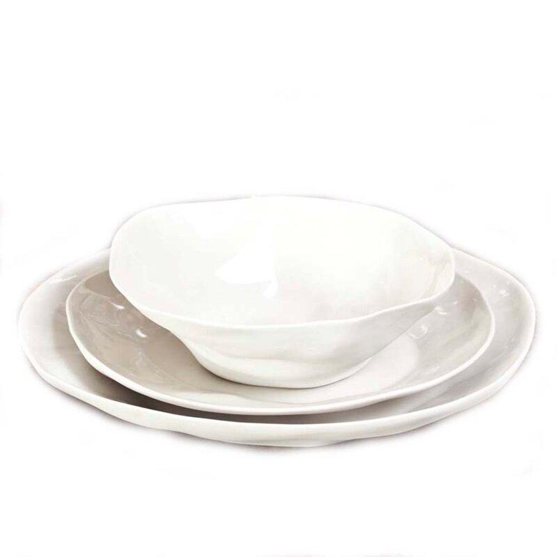 Petrin Stoneware Serving Bowl
