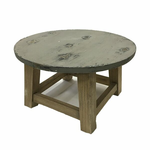 Josefina Wood Chat Table by Union Rustic