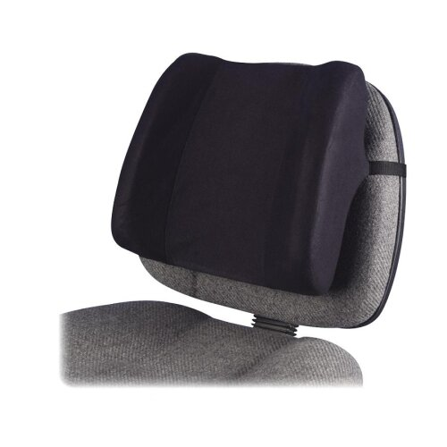 High-Profile Backrest with Soft Brushed Cover by Fellowes Mfg. Co.