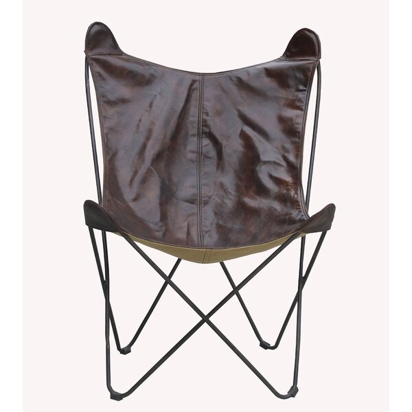 Deshields Butterfly Chair by 17 Stories