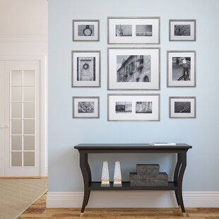 Marquard 9 Piece Wall Gallery Picture Frame Set