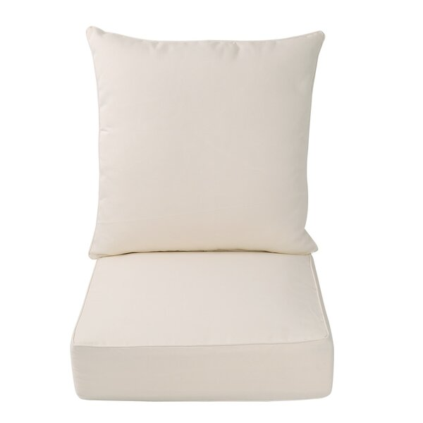 Indoor/Outdoor Deep Seat Chair Cushion by Rosecliff Heights