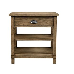 Best Reviews Driftwood Park 1 Drawer Nightstand ByStone & Leigh™ by Stanley Furniture