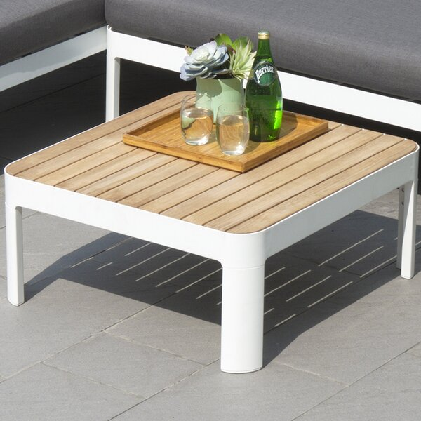 Thora Solid Wood  Side Table by Orren Ellis