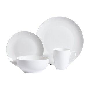 Woodruff 16 Piece Dinnerware Set Service for 4  sc 1 st  Joss \u0026 Main & 16 Piece Dinnerware Sets \u0026 Place Settings | Joss \u0026 Main