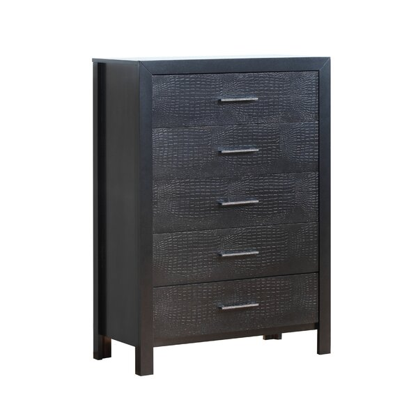 Raye 5 Drawer Chest by Everly Quinn