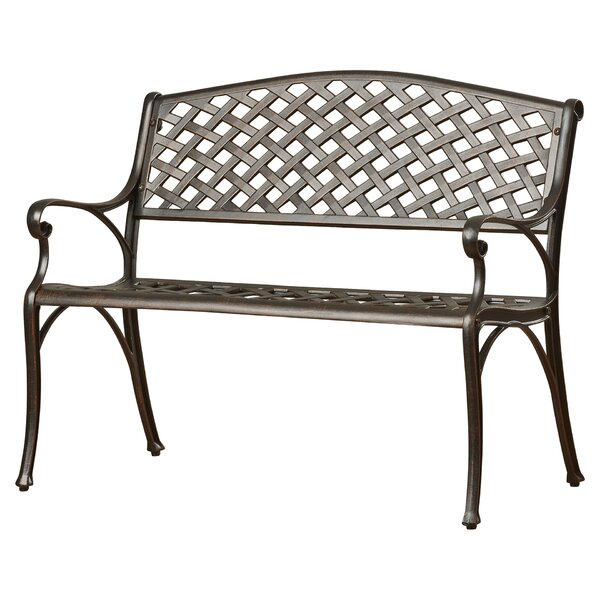 Nouvel Aluminum Garden Bench by Lark Manor