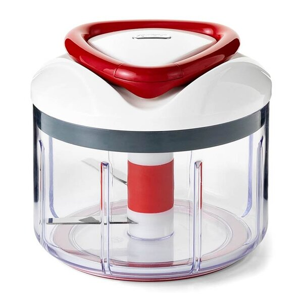 Easy Pull Manual Food Processor and Chopper by Zyliss