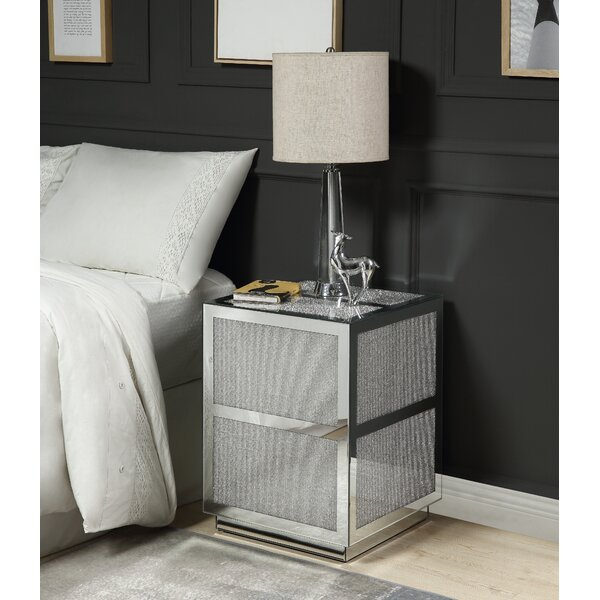 Decatur 2 Drawer Nightstand by House of Hampton