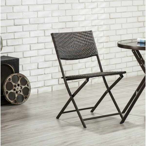 Delway Folding Dining Chair (Set of 2) by Bay Isle Home