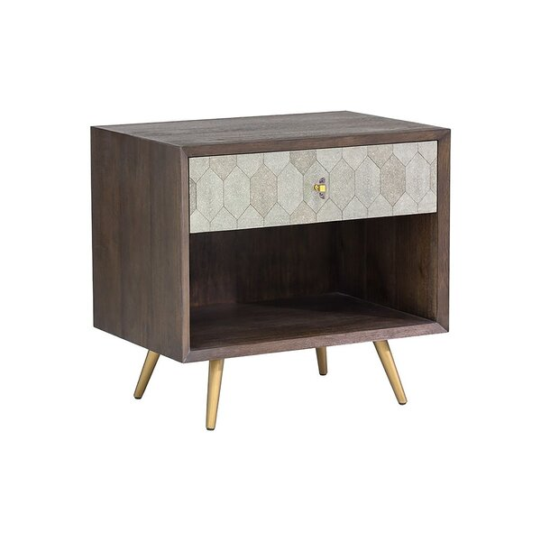 Yancy 1 Drawer Nightstand by Corrigan Studio