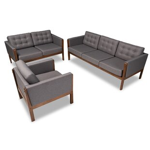 Mont 3 Piece Living Room Set by Ivy Bronx