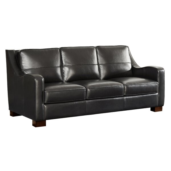 Arlford Leather Sofa By Latitude Run