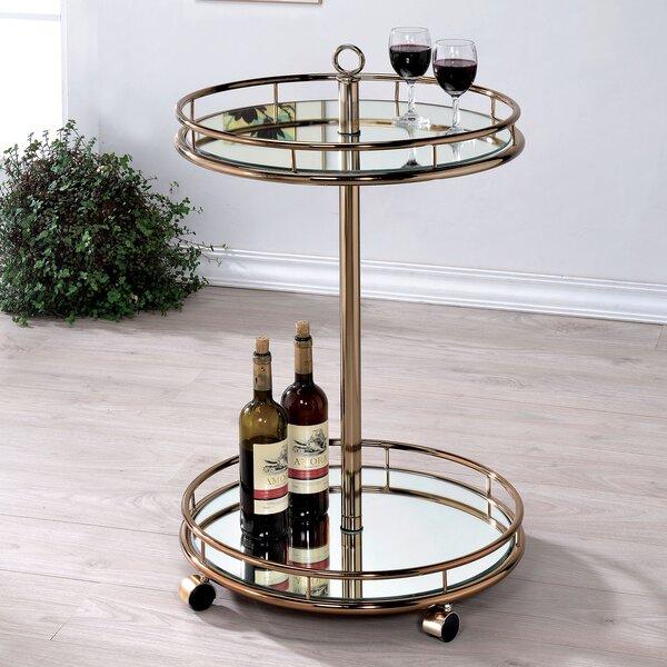 Kole Bar Cart By Willa Arlo Interiors Bargain