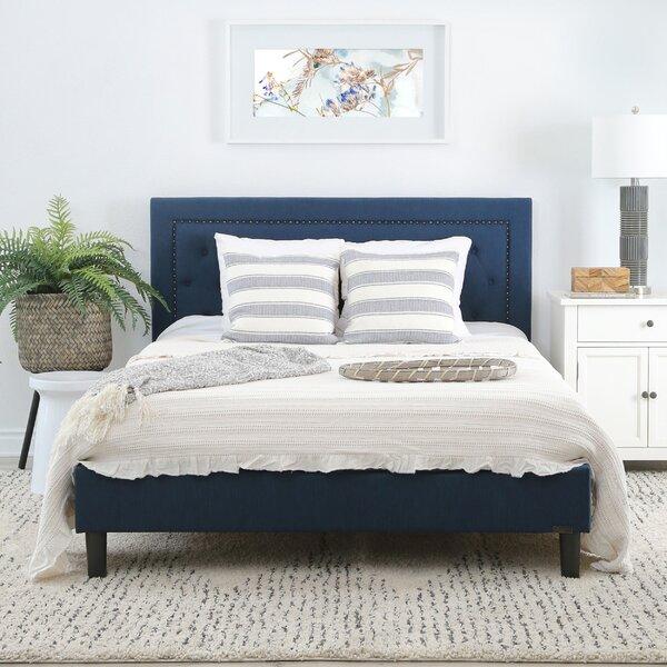 Figueroa Upholstered Platform Bed by Alcott Hill