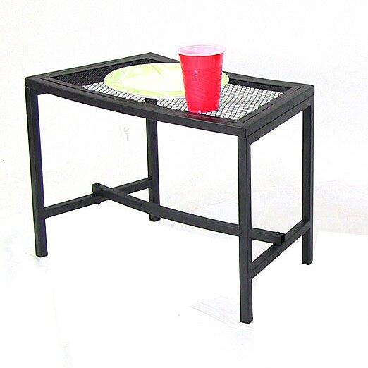 Shae Mesh Side Table by Freeport Park