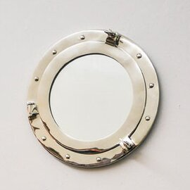 Porthole Wall Mirror by Old Modern Handicrafts