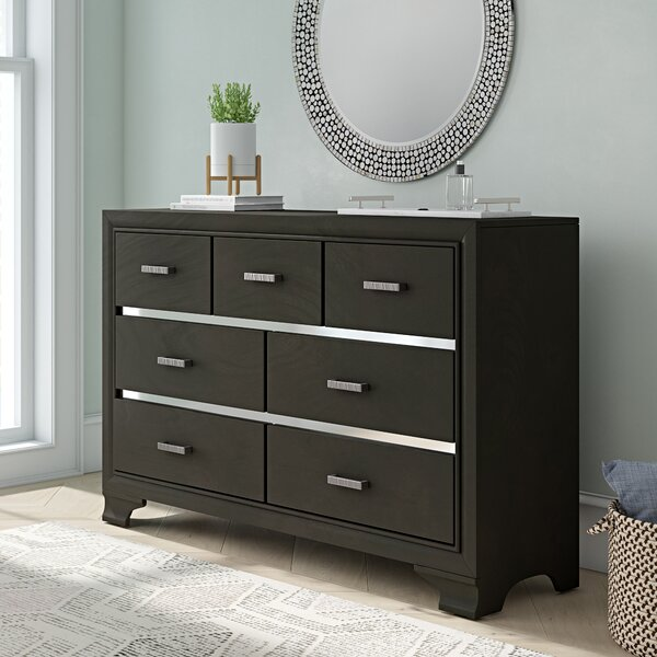 Alexandro 7 Drawer Dresser by Ebern Designs