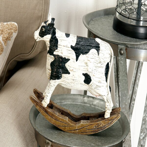 Cow Figurine by Cole & Grey