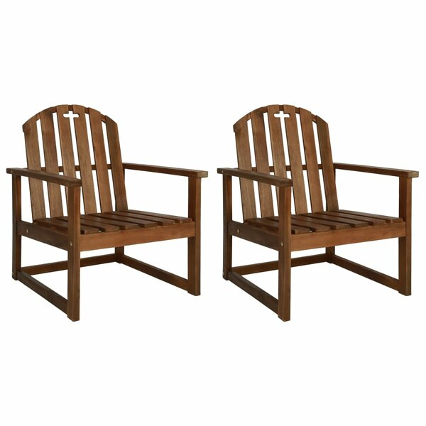 Otwell Garden Patio Dining Chair (Set of 2) by Highland Dunes