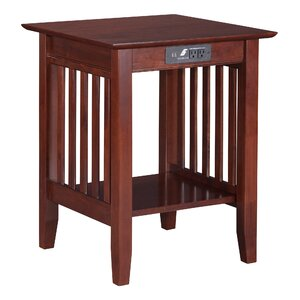 Livonia End Table by Three Posts