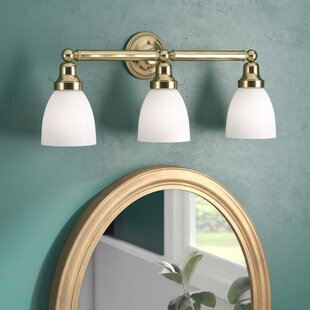 Compare prices Silverton 3-Light Vanity Light ByThree Posts