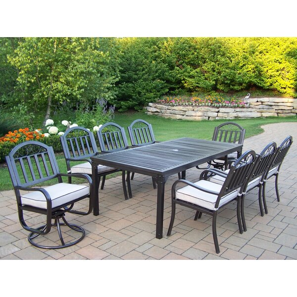 Lisabeth 7 Piece Dining Set with Cushions by Red Barrel Studio