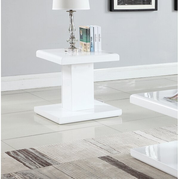 JeVon End Table by Orren Ellis