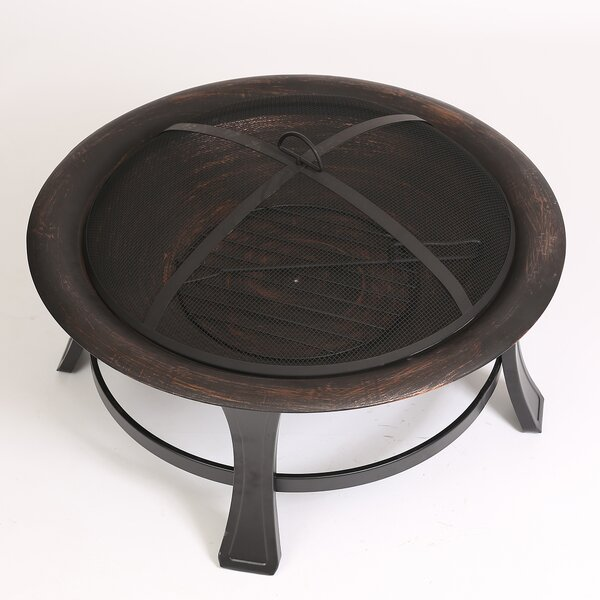 Wood Fire Pit by Winsome House