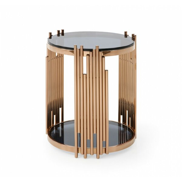 Humnoke End Table by Everly Quinn